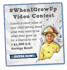 Enter the #whenigrowup contest